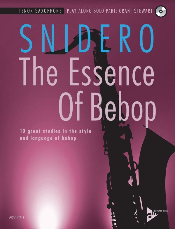 The Essence of Bebop - Tenor Sax (Front Cover)